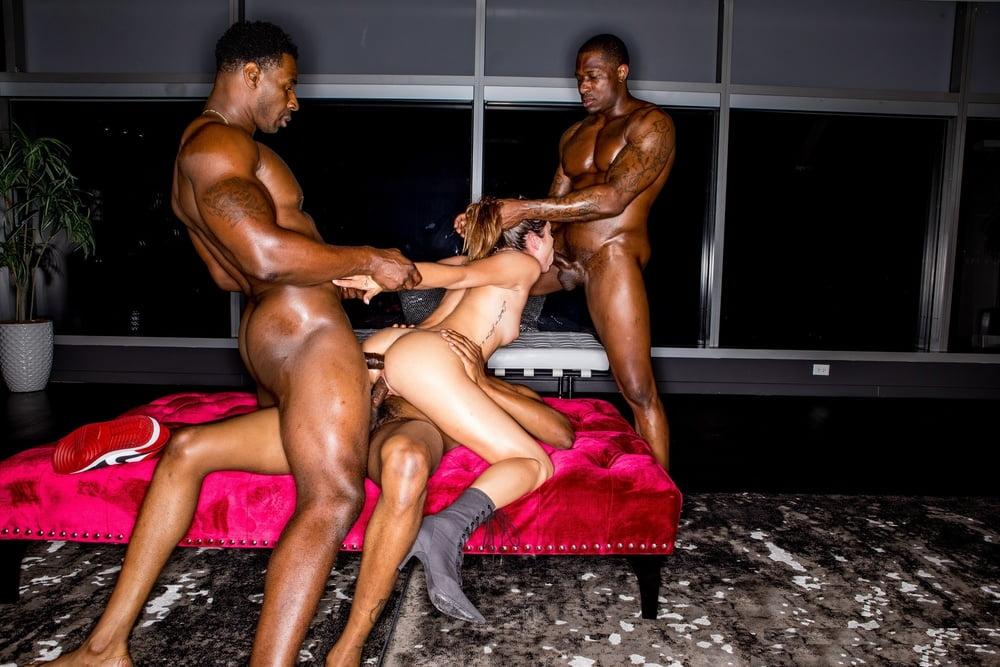 Beauty Teen Brunette Girls Got Roughly Fucked By Black Fuckers