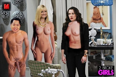 Two broke girls nude