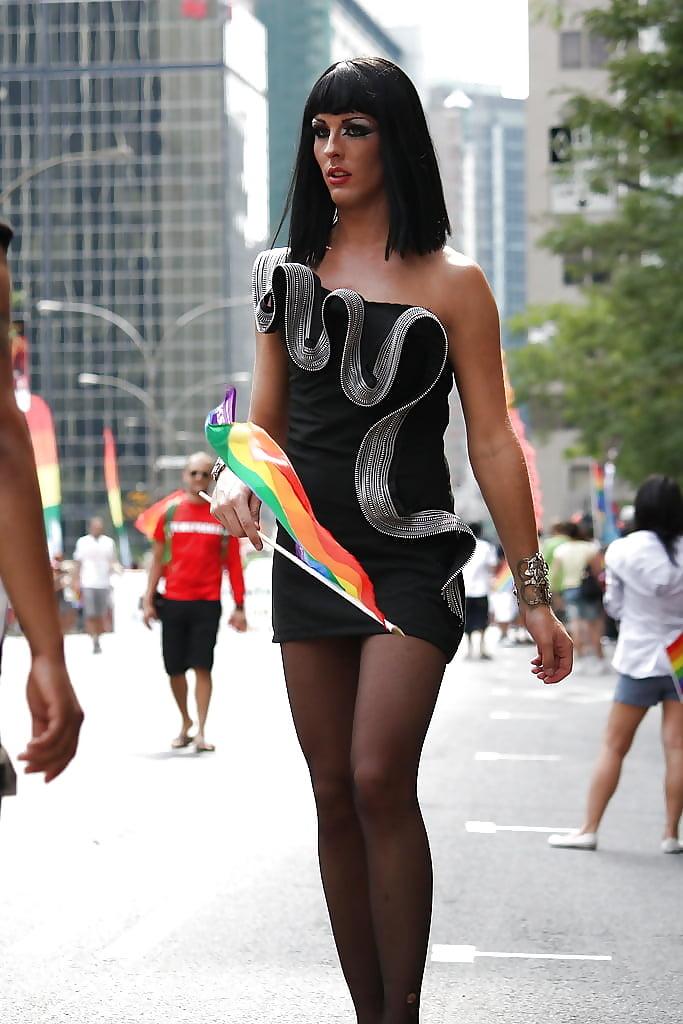 Транссексуалки на улице москвы нем были