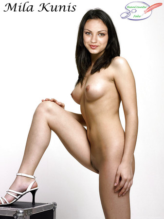mila kunis showing her pussy