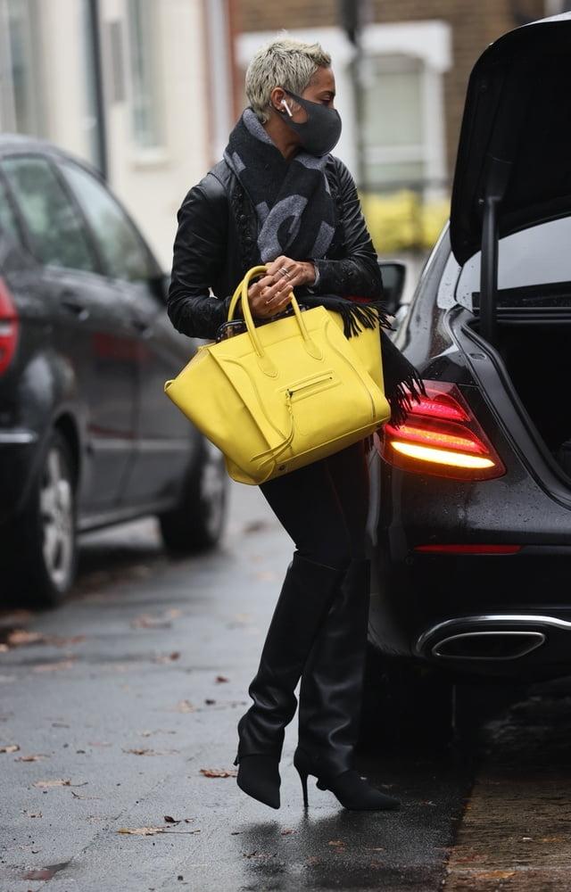 Female Celebrity Boots & Leather - Karen Hauer