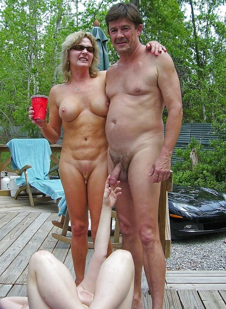 Mom son at nudist beach