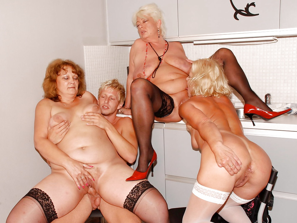 Grannies hot orgy sex images