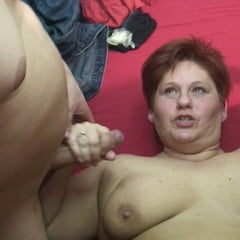 CUM Fed By 2 Young Cocks