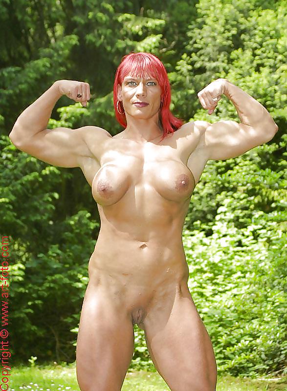Muscle porno woman