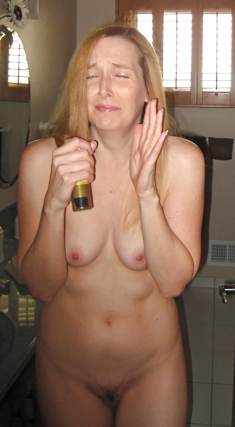 Naked wife caught 12