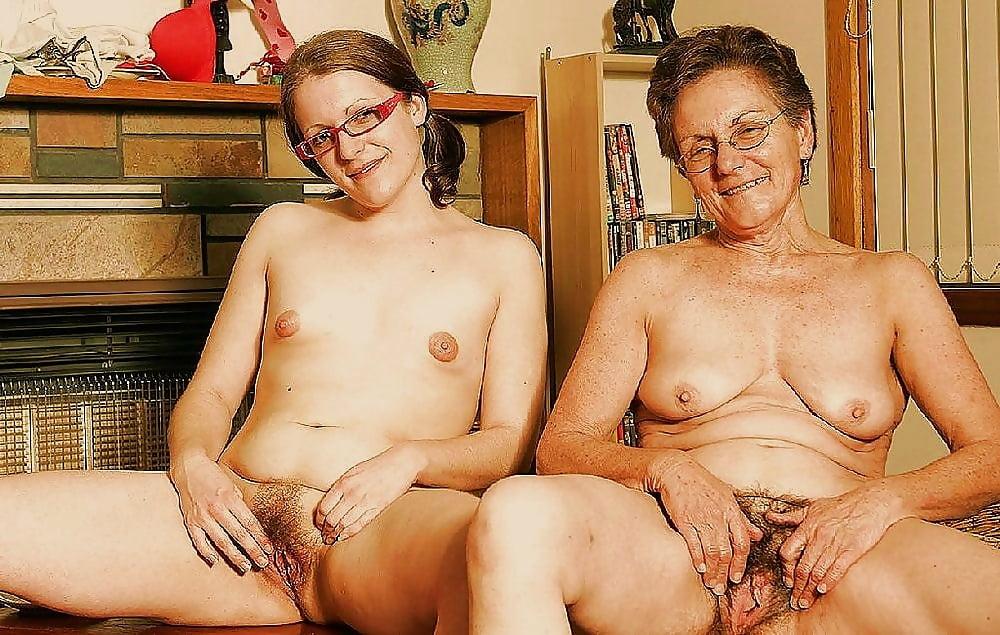 Gross Granny Naked