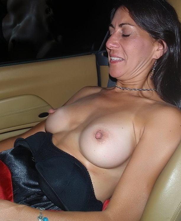 Wives Erect Nipple Public