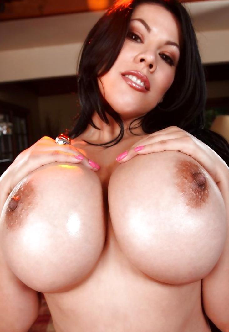 Fake boobs fucking