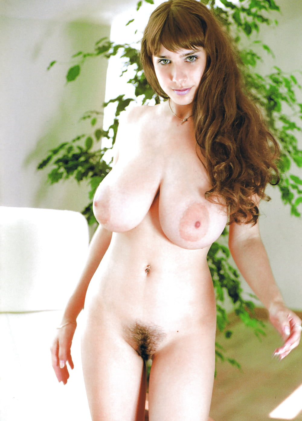 Big natural tits hairy italian