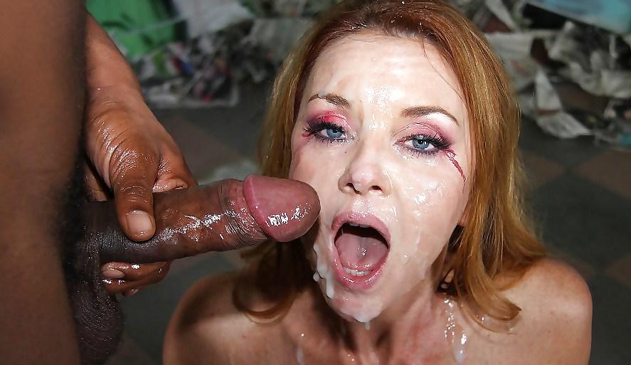 Milf facial interracial sex pictures — photo 14