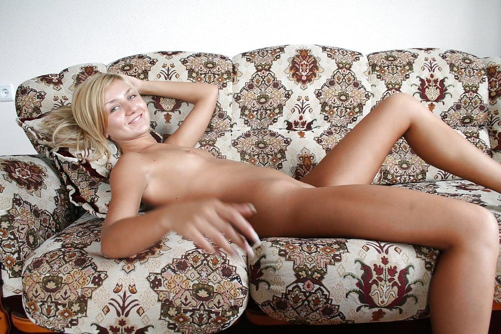 Petite blonde russian chick