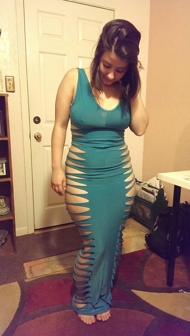 Cristina Culona Del Vestido Azul 24 Pics Xhamstercom