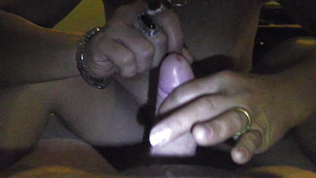 My wife and my cock april 2012