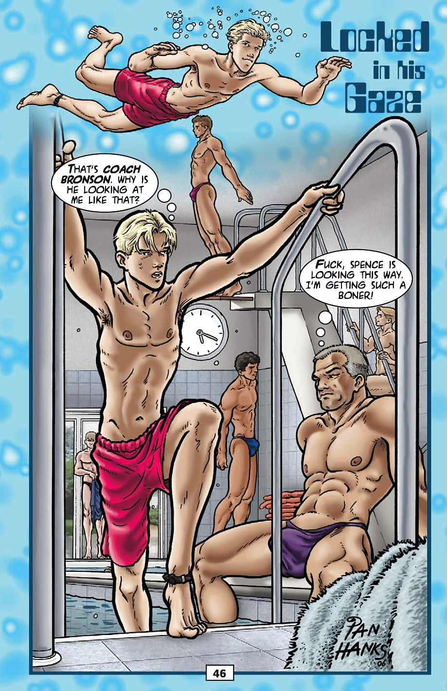 Beach Voley Porn Comic ian hanks - locked in his gaze - 5 pics - xhamster