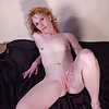 Two MILFs with shaved pussy and small tits