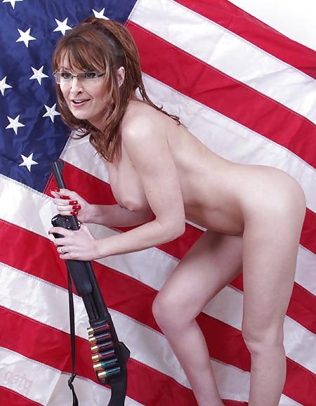 Sarah Palin Nude Painting