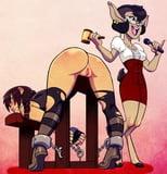 Sluts cartoon # 91