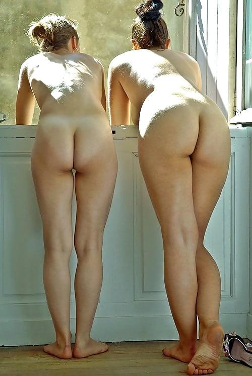 Nude boy with a nice smooth ass