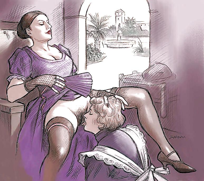 Vintage Erotic Drawings 32 - 33 Pics  Xhamster-8471