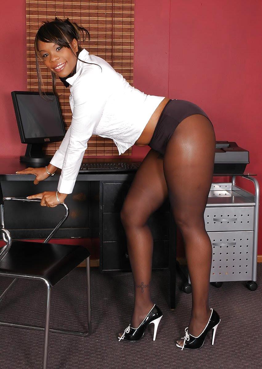 Ebony nylons galleries #11