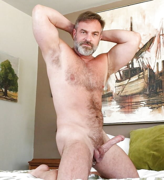 Middle eastern hairy naked daddy