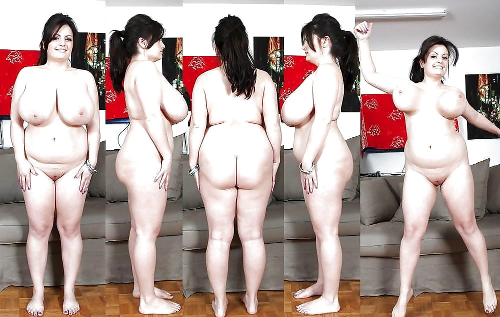 Overweight nude woman stock photos and images