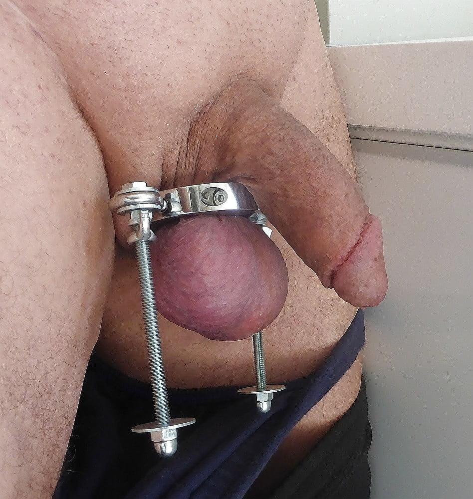 Low Hanging Balls Photos