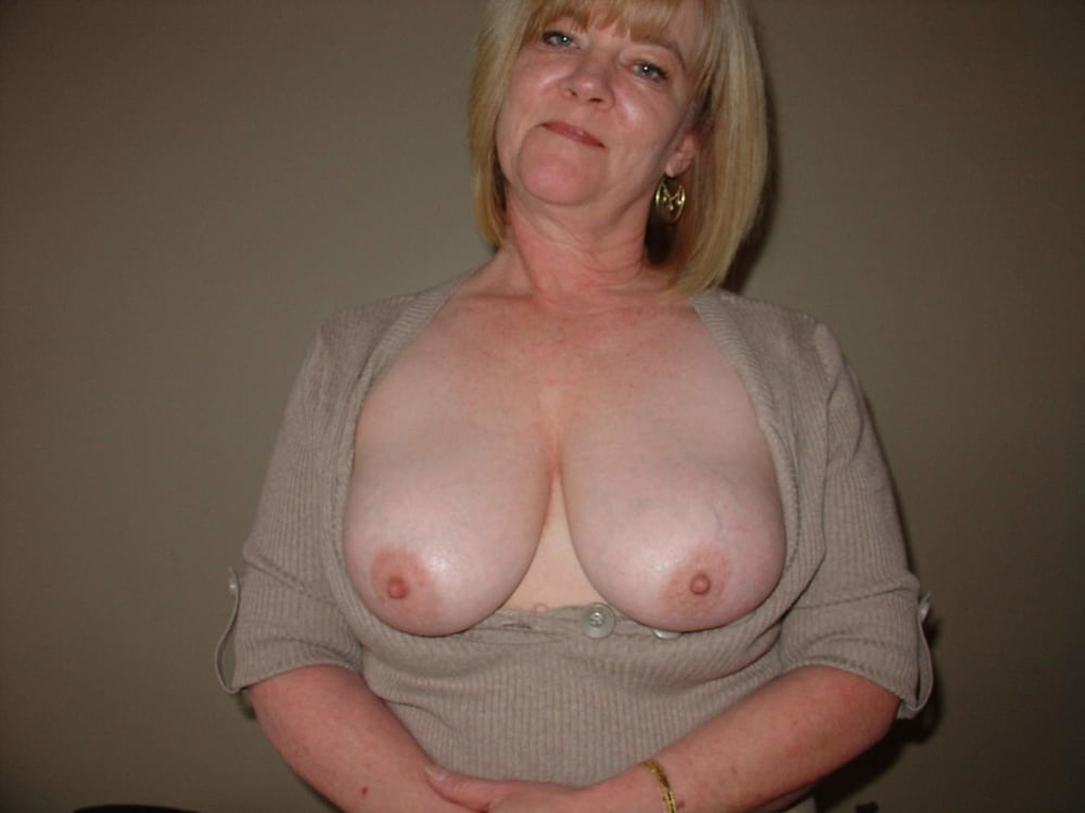Very Old Mature Breasts
