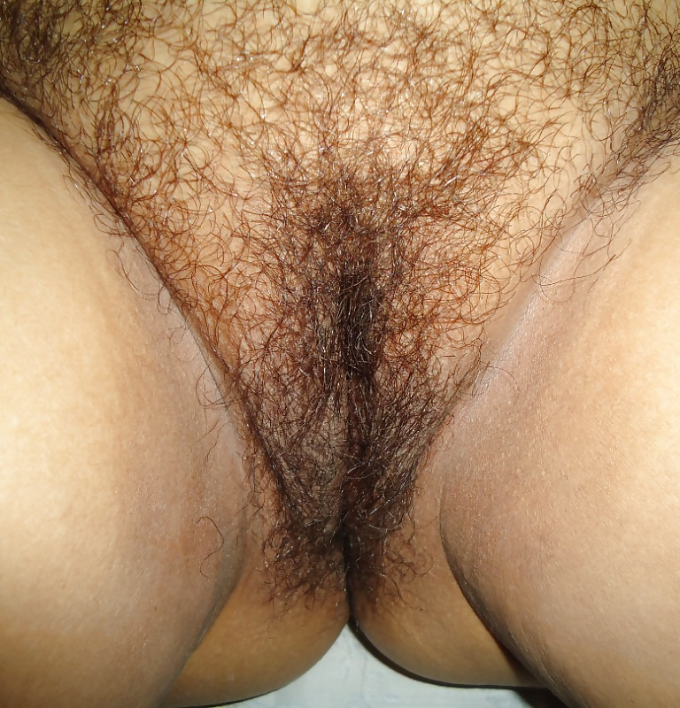 Shaves her hairy pussytures #1