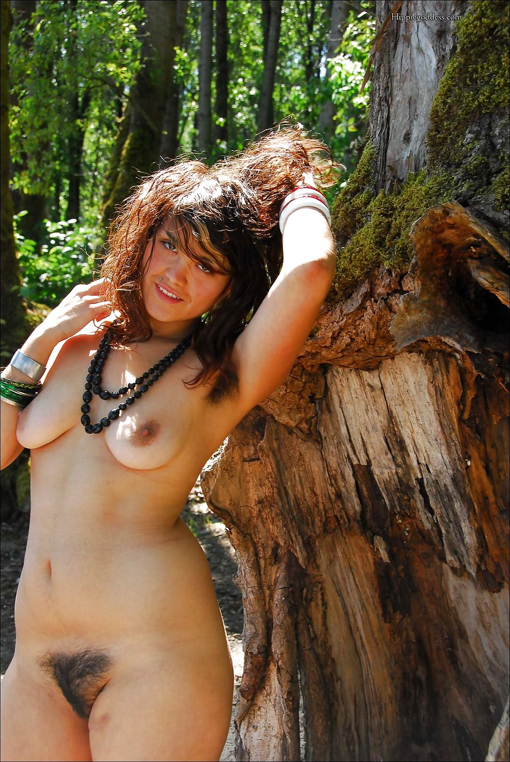 Hot hippie women nude #4