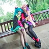 Cosplay Feet: Hatsune Miku (Vocaloid) #2