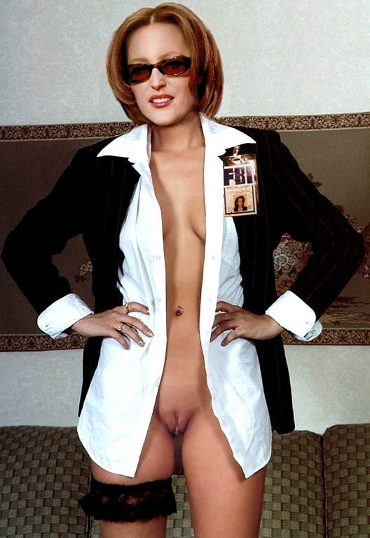 Agent scully nude