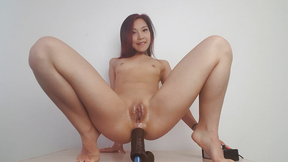 Uncensored no mosaic small super hot japanese girl fucks her tight asshole with long dildo