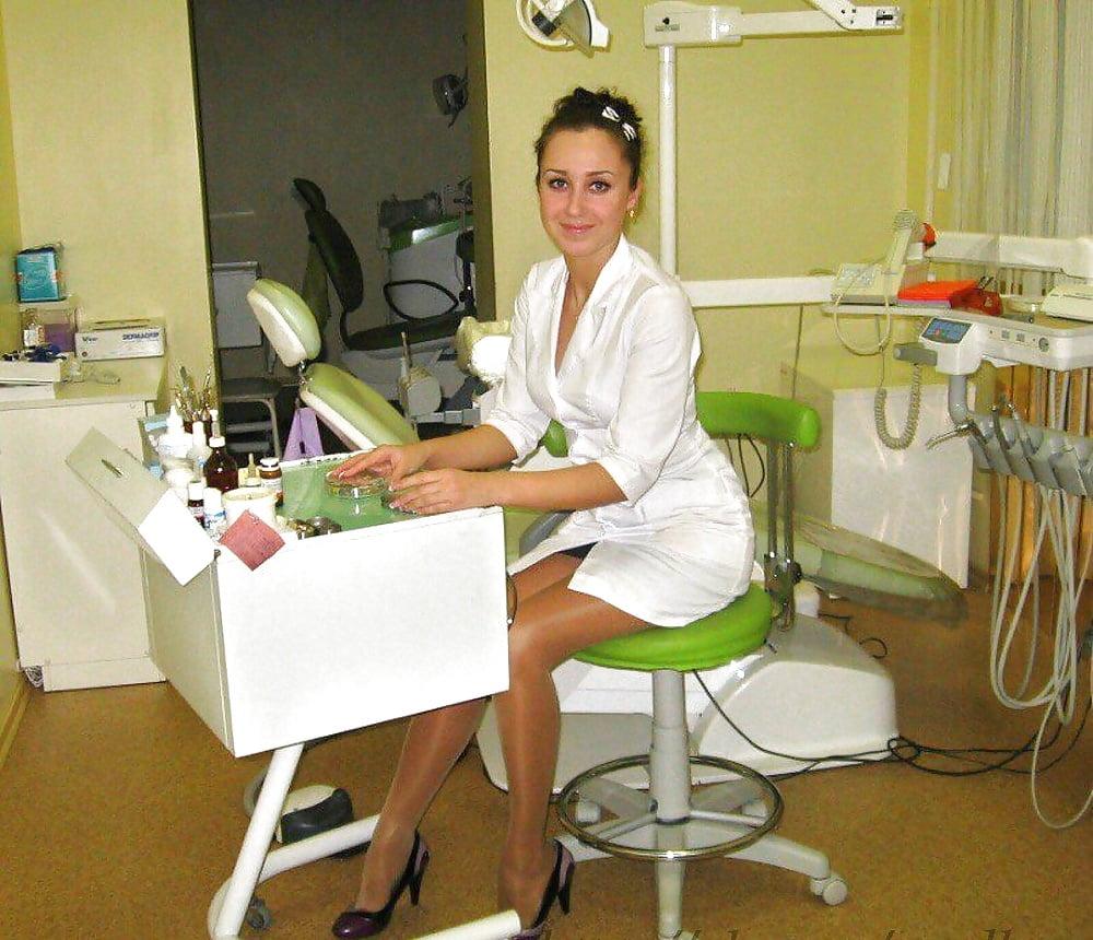 Интим голые стоматологи 6