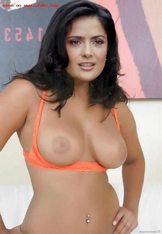 Salma hayek naked some kind of beautiful
