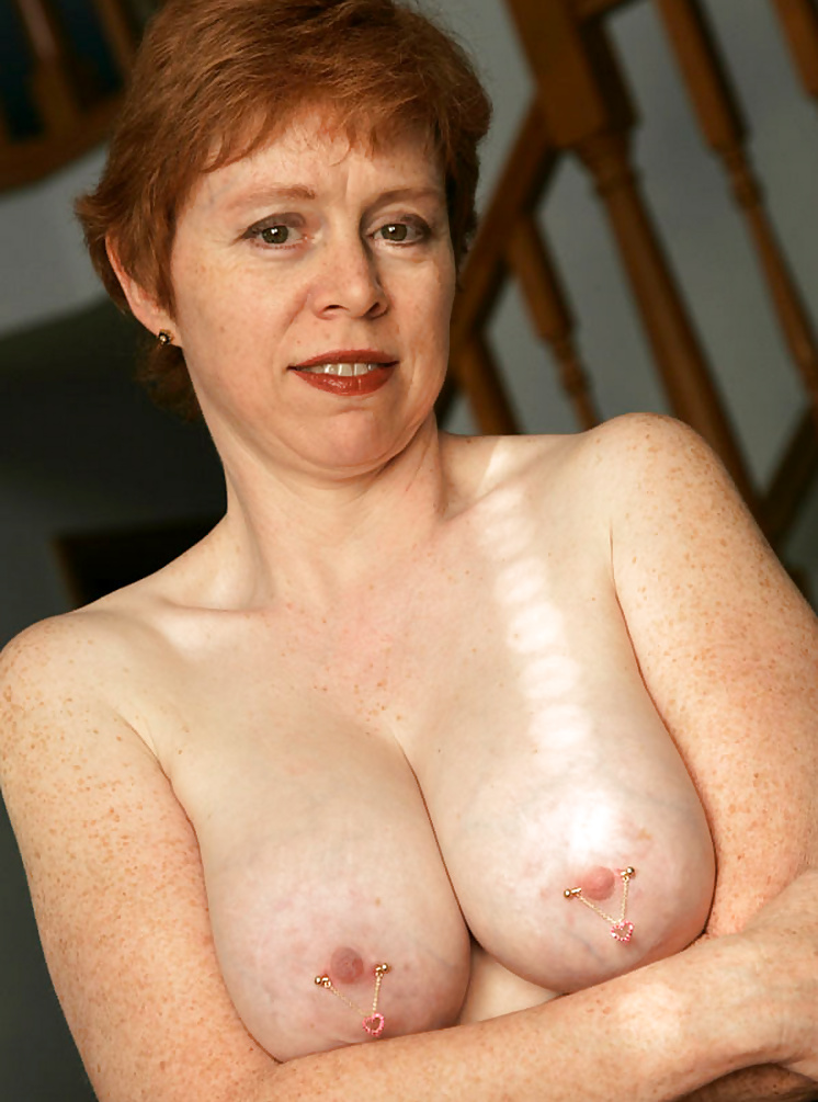 Freckled mature nude — 5