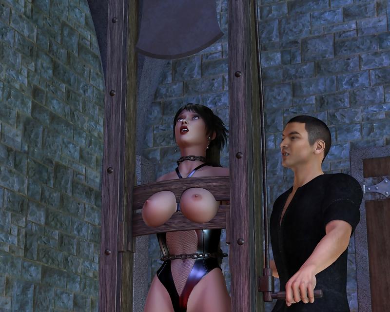 Impressive lady with huge tits does like hardcore domination
