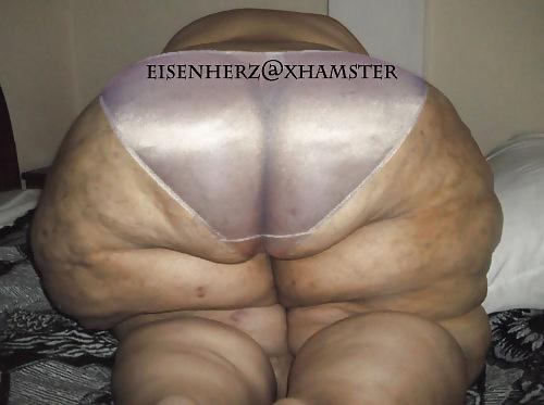 Big asses in panties and satin
