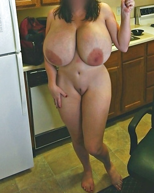 Sexy milf in corset has monster melons