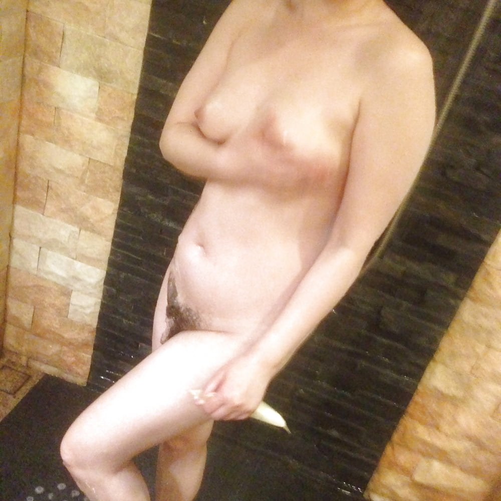 Milf nude in public
