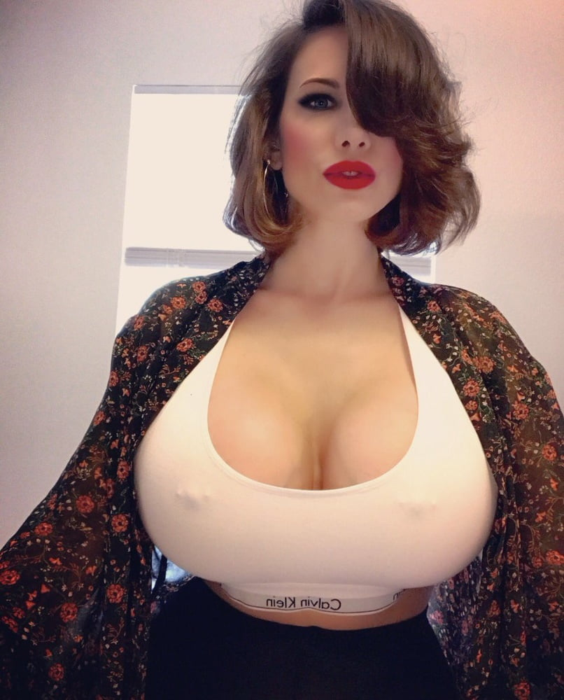 Girl With Giant Breasts