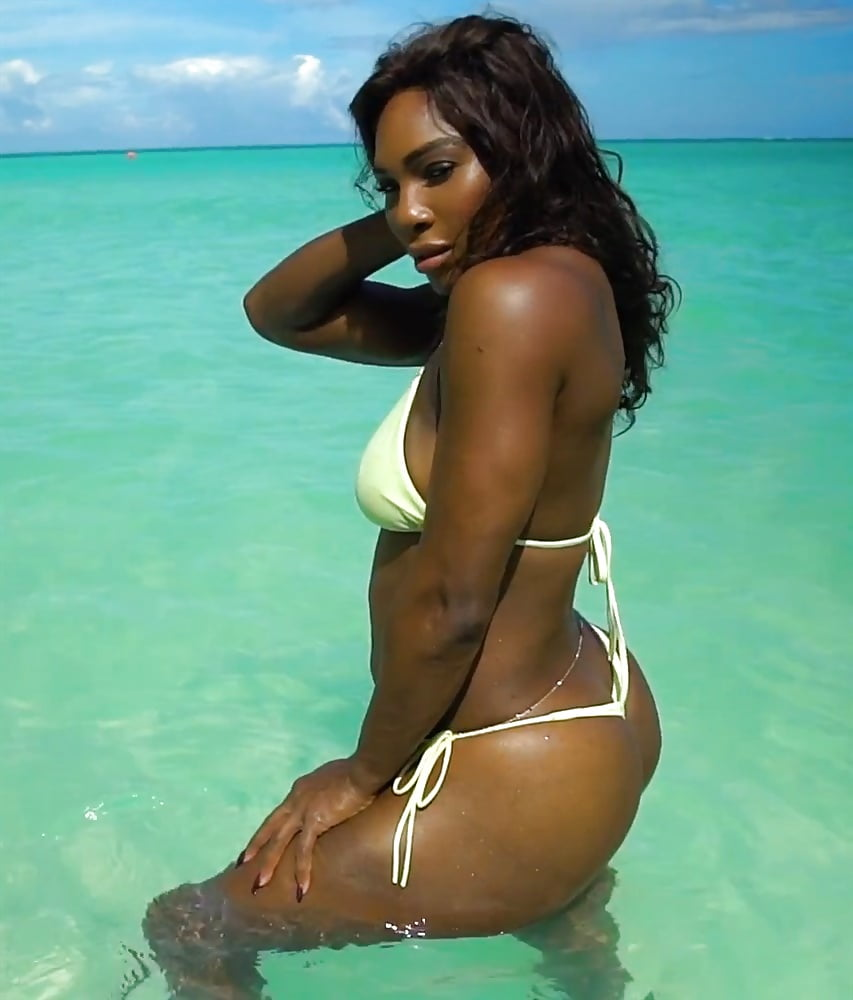 Serena williams ass thong, amateur housewife fucked gif