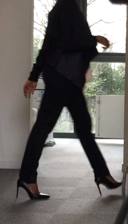 Teen high heels video
