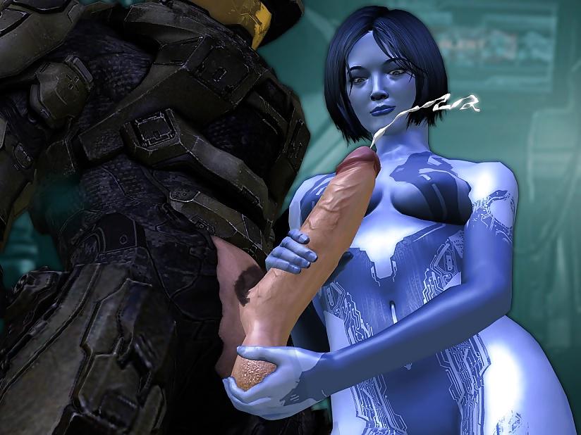 Halo cortana porn game
