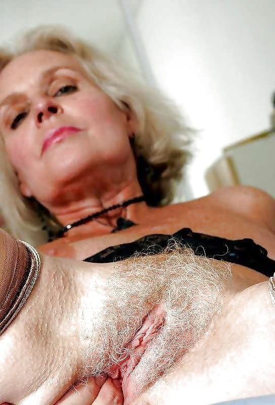 Girl sexy silver haired pussy ryan play