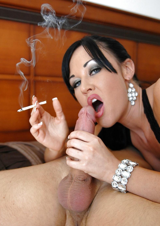 порно с курящей девушкой еще меня
