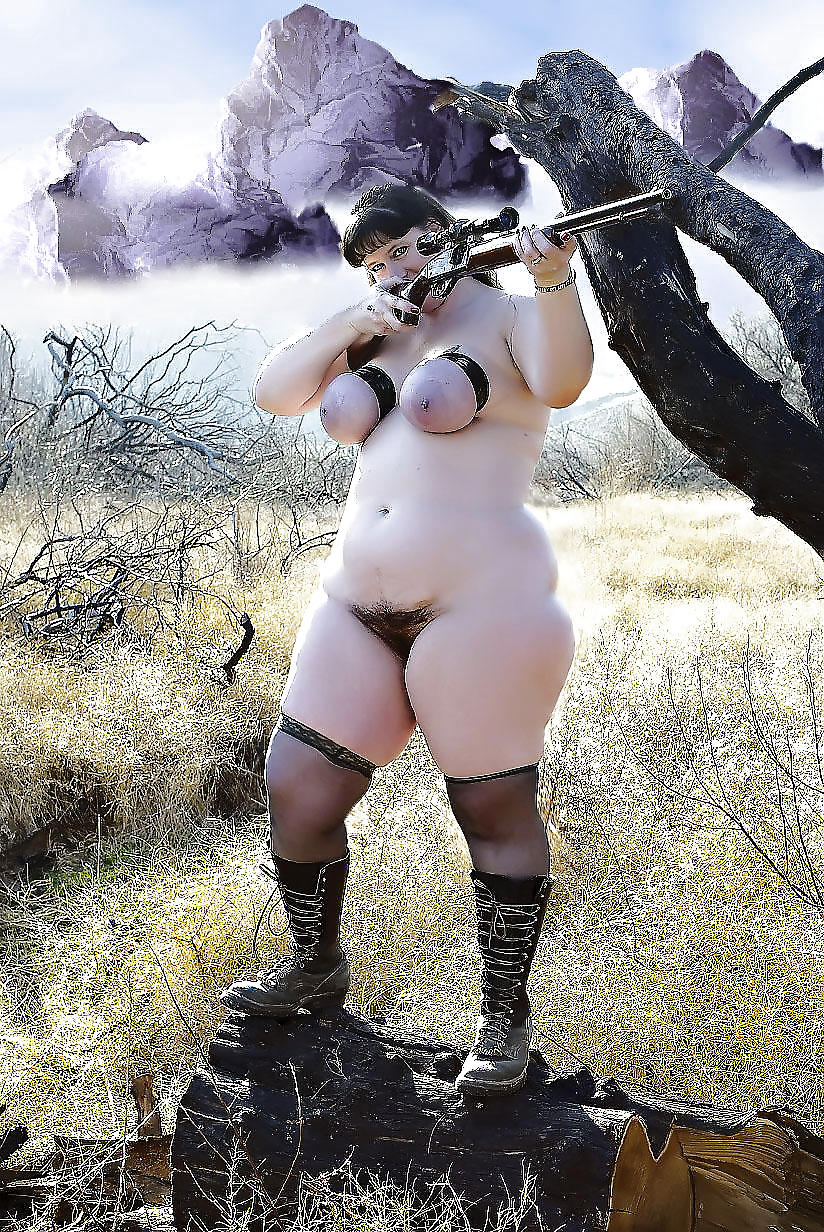 Big tits and guns