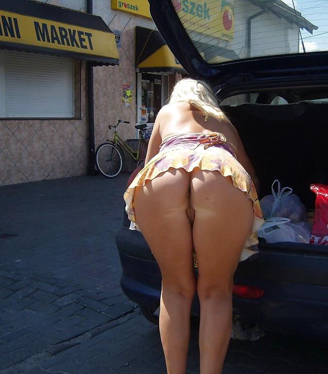 Upskirt booty pics