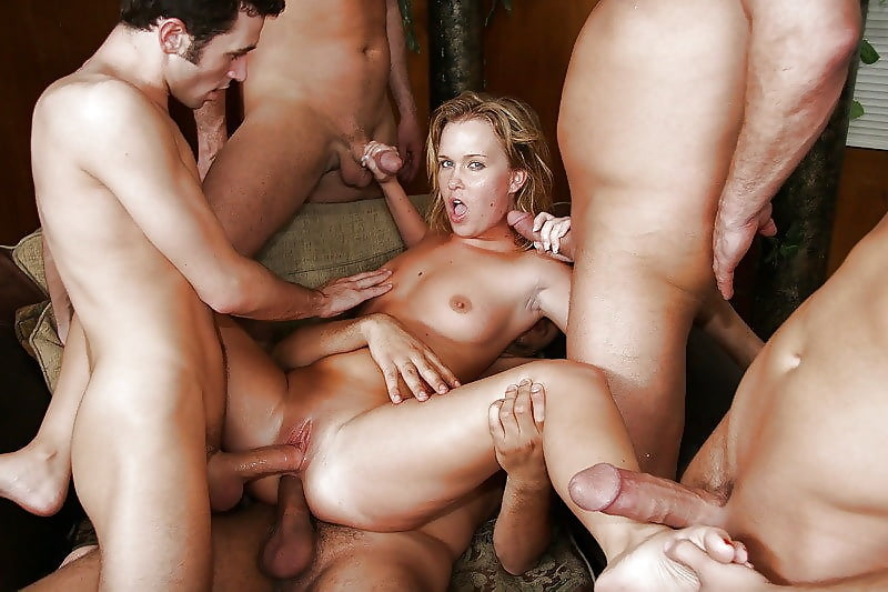 Large gang bang video serial